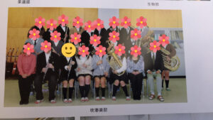 高校の時の部活写真
